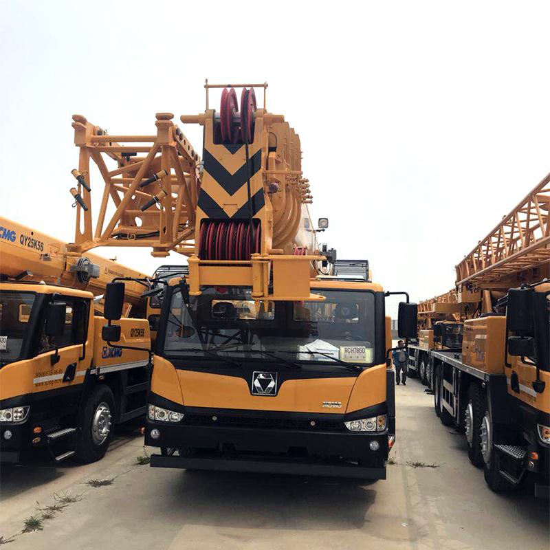 автокран китайский 25 тонн